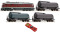 ROCO 35017 Digi-Set: Diesellok BR132+Gz