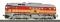 ROCO 36228 Diesellok M62, orange