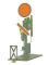 Fleischmann 40609 H0 Form Vorsignal Sch.+Fluge