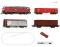 ROCO 51312 z21 Set Diesellok BR 218 + G