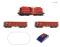 ROCO 51334 Analogue start set: Diesel locomotive class 2045