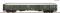 ROCO 54452 D-Zug Packwagen grun
