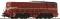 ROCO 58510 Diesellok S.2200 AC braun