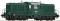 ROCO 63874 Diesellok 2045 grün Flugelr