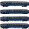 ROCO 64187 4-tlg. Set Touropa Zug DB