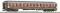 ROCO 64610 UIC-X Wagen 1.Kl. rot/grau