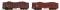 ROCO 67124 Set: Offener GüterwagenEaos+Kohle 2
