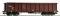 ROCO 67302 Offener Güterwagen 4-achs braun