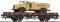 ROCO 67423 Rungenwagen 2a.+Post Tankwagen