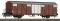 ROCO 67615 Gedeckter Güterwagen 2a. SBB