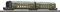 Tillig 13746 $ $ Mittelteil-Zug, PKP, Ep.I