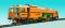 Kibri 16500 H0 Schienentiefladewagen MAN Uaai 687.9 mit Transformator Sped. Kübler