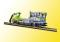 Viessmann 2622 H0 Robel Gleiskraftwagen 54.22 BLS mit bewglichem Kran, 2L-Sonderserie