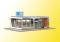Kibri 39008 KIB/H0 Kiosk inkl. LED-Beleuchtung, Funktionsbausatz