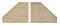 Viessmann 48601 VOL/N Stützwand 2 Stück, 7,2 x 5,3 cm