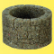 Vollmer 48760 VOL/0 Brunnen, Bruchstein, 2 Stück, Höhe 2,2 cm, Durchmesser außen 3,5 cm