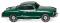 Wiking 003449 VW Karmann Ghia Coupé - grün