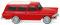 Wiking 007149 Opel Rekord ´61 Caravan - rot