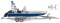Wiking 009546 THW - Mehrzweckboot MZB72 (Lehmar)