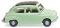 Wiking 009902 Fiat 600 - weißgrün
