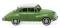 Wiking 012001 DKW Limousine - maigrün mit weißem Dach