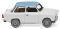 Wiking 012905 Trabant 601 S de Luxe - hellgrau mit pastellblauem Dach