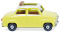 Wiking 018448 Glas Goggomobil with folding roof - yellow