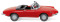 Wiking 020601 Alfa Spider - rot