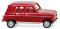 Wiking 022449 Renault R4 - ruby red