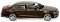 Wiking 022703 MB E-Klasse W 213 Exclusive - citrinbraun metallic