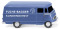 "Wiking 026503 Kastenwagen (MB L 319) ""Fuchs-Bagger Kundendienst"""