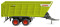 Wiking 038199 Claas Cargos Ladewagen