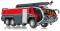 Wiking 043003 Feuerwehr - Rosenbauer FLF Panther 6x6 mit Löscharm