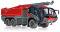 Wiking 043049 Feuerwehr - Rosenbauer FLF Panther 6x6 mit Löscharm