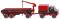 """Wiking 050203 Unimog U 1700 mit Bauanhänger """"Eisen & Stahlhandel A.G."""""""