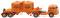 Wiking 053401 Chemical trailer truck (MAN Pausbacke) Readymix