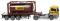"""Wiking 053604 Tankcontainersattelzug 20 (MAN TGS Euro 6) """"Bertschi"""""""