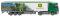 "Wiking 053708 Gardinenplanensattelzug (MB Actros) ""John Deere"""