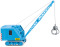 Wiking 066149 Raupenkran (Krupp Ardelt) - hellblau