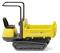 Wiking 066902 Track Dumper 15 (Neuson) - zinkgelb