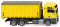 Wiking 067205 Abrollcontainer (MAN TGX EURO 6c/Meiller) - zinkgelb