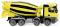 Wiking 068149 Fahrmischer (MB Arocs/Liebherr) - gelb/schwarz