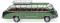 Wiking 073002 Reisebus (Setra S8) - dunkelgrün/resedagrün