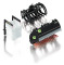 Wiking 077386 Front loader attachments - Set B (black)