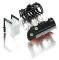 Wiking 077386 Frontlader Werkzeuge Set B schwarz
