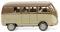 Wiking 078802 VW T1 (Typ 2) Bus - cremebeige/braun