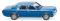 Wiking 079103 Ford Granada - blau-metallic