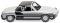 Wiking 079204 VW Porsche 914 silber/schwarz