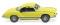 "Wiking 080509 VW Karmann Ghia Coupé ""Gelb-Schwarzer Renner"""