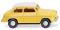 Wiking 080636 Lloyd Alexander TS - gelb mit weißem Dach
